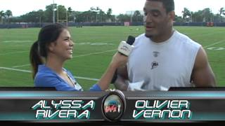 RAPID FIRE-Alyssa Rivera tackles Olivier Vernon