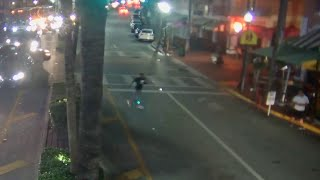 Surveillance video shows man fleeing scene after fatally shooting rapper in South Beach