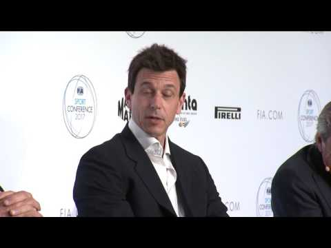 Toto Wolff at the 2017 FIA Sport Conference