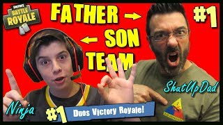 BEST Fortnite Duos Father Son Team / Giveaway