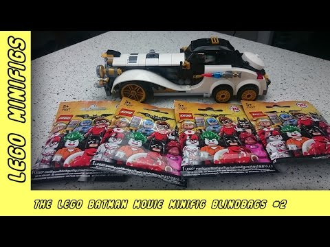 Lego Batman Movie MiniFig Blind Bag Opening 2 | Paddy & Jo Toys