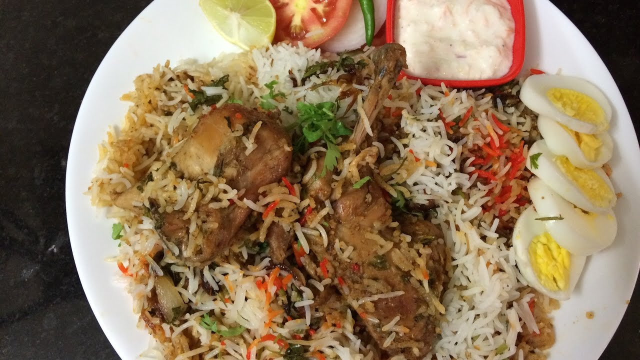 Chicken Biryani Recipe Restaurant Style - English Subtitle   Murgh Biryani    Chicken Biryani