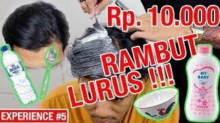 Download Video 100% SUKSES & MURAH !! Cara dan Trik Cepat Meluruskan Rambut Dengan Bedak Bayi MP3 3GP MP4