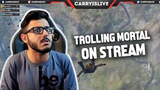 TROLLING MORTAL ONSTREAM - FUNNY HIGHLIGHT