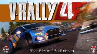 V-Rally 4 Gameplay (First 15 Minutes) Rally Games Ep. 22