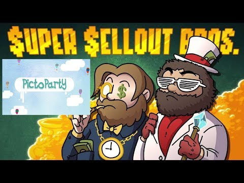 Picto Party | Super Sellout Bros. ft. The National Dex  | Super Beard Bros.
