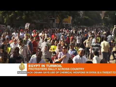Pro-Morsi rallies in Egypt leave six dead