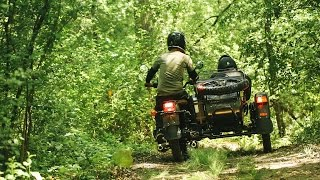 Taming a Russian Sidecar on the Idyllic Trails of Camp Wandawega