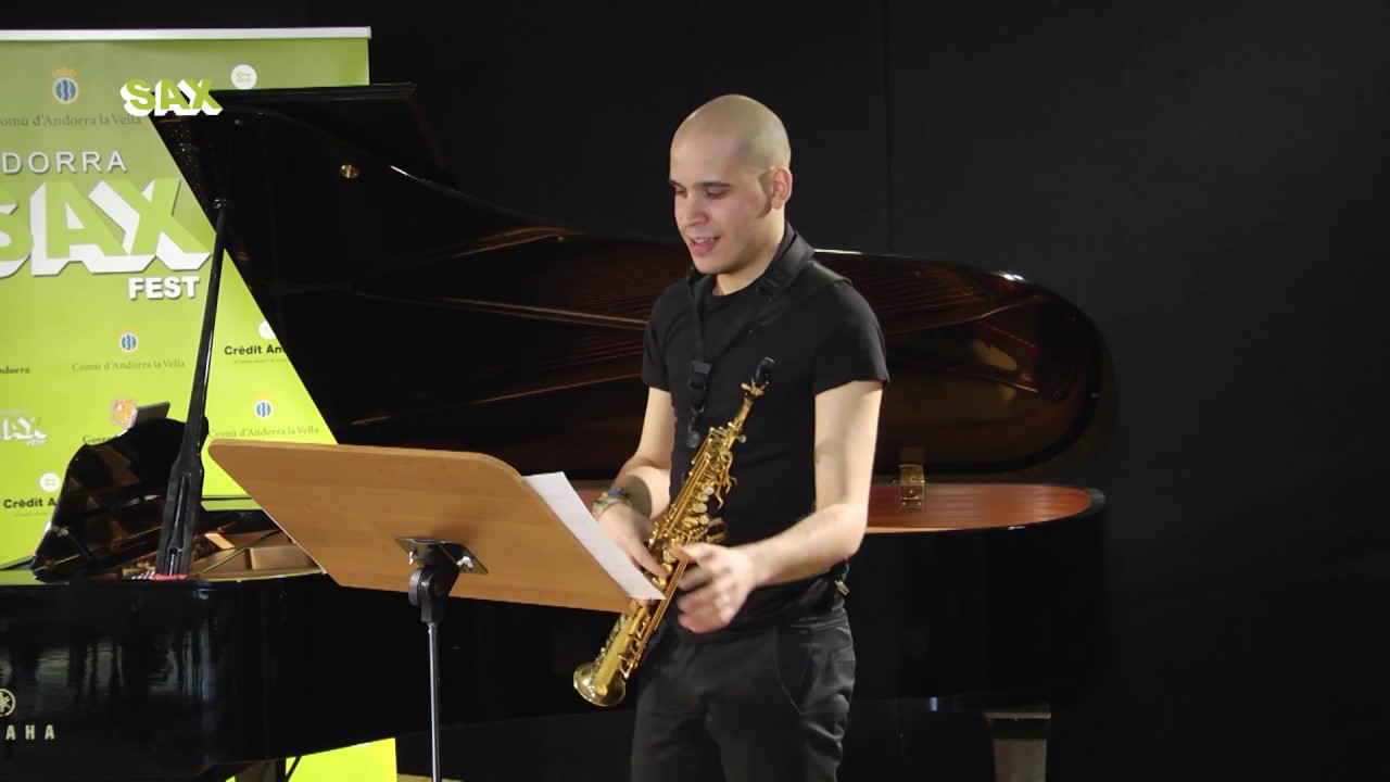 VICTOR PELLICER PALACIOS - 1st ROUND - V ANDORRA INTERNATIONAL SAXOPHONE COMPETITION 2018