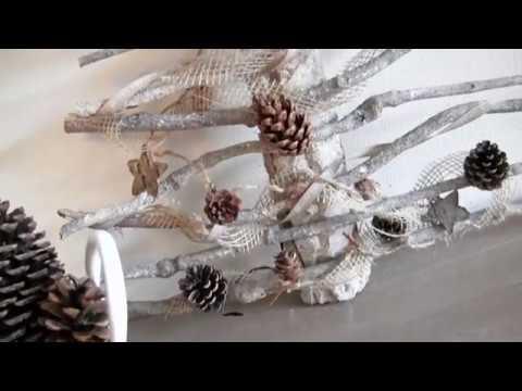 Diy Met Takken : Diy kerstboom met takken youtube