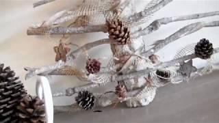 Diy Met Takken : Decoratie takken voor in de kerstboom parksidetraceapartments