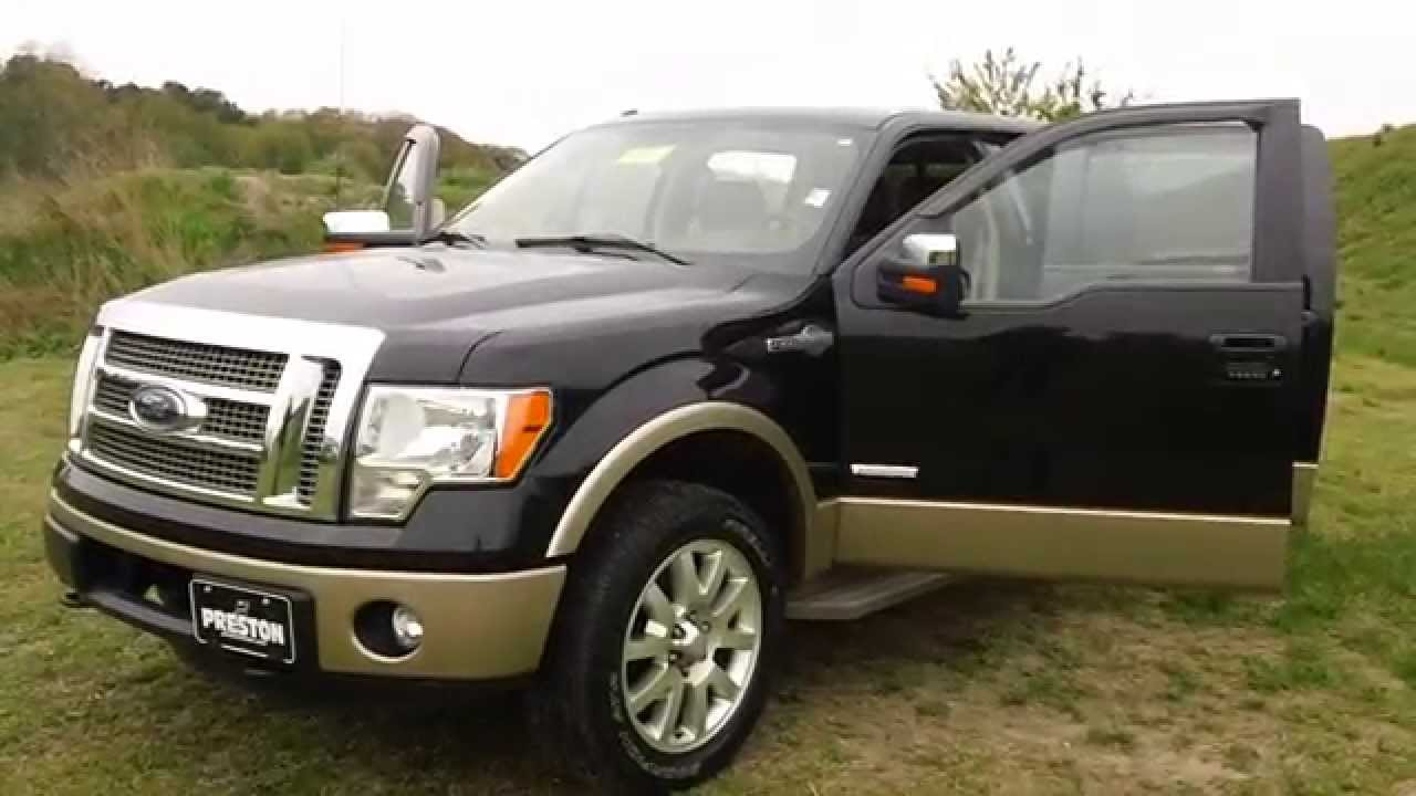 2012 ford f150 king ranch crew cab 4wd v6 used car for sale in maryland f400816a youtube