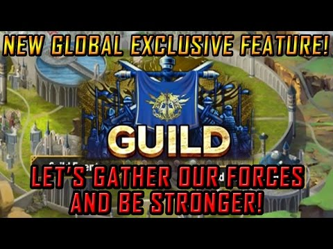 GUILDS in Brave Frontier! A new cool global exclusive feature!
