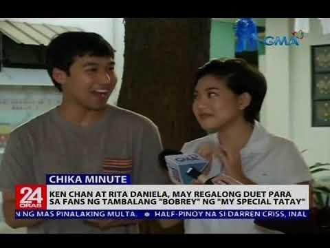 """Ken Chan at Rita Daniela, may regalong duet para sa fans ng tambalang """"Bobrey"""" ng """"My Special Tatay"""""""