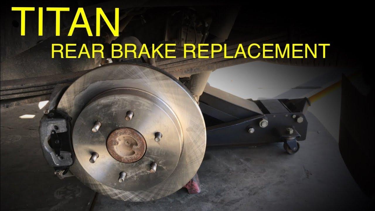 Nissan Titan Rear Brake Replacement (2004-2015)