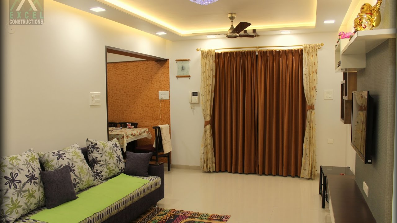 3 Bhk Apartment Interior Design At Sun Orbit Pune