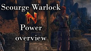 Neverwinter - Scourge Warlock Powers and Impression