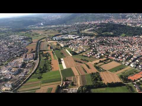 Beautiful Stuttgart aerial view