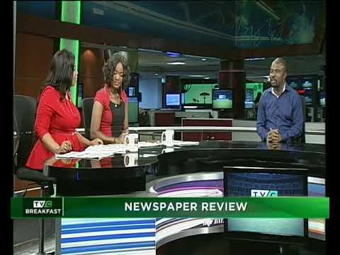 TVC Breakfast 24th May, 2018 | Newspaper Review