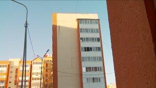 видео Блок-секция монолитного жилого здания (варианты)