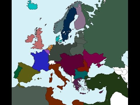 Alternate World War 1 (Treaties)