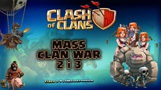 Clash of Clans | Masovni Rat | WIN WIN WIN