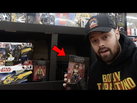 TOY HUNTING WALMART FOR MARVEL LEGENDS, BLACK SERIES AND BIRTHDAY PRESENTS!