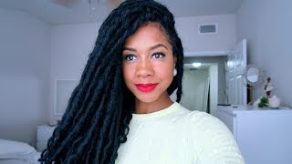 How I Installed My Faux Locs + Where I Bought Them thumbnail