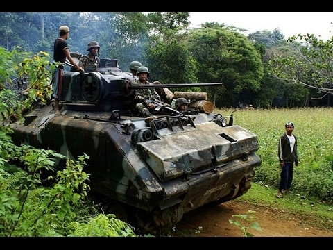 High tech military gear: M113 Armored Personnel Carriers spotted in Philippines