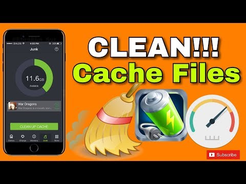 Clean!!! Cache Files / Free Space on  iPhone, iPad, and iPod Touch (NO Jailbreak) on iOS 10 - 9