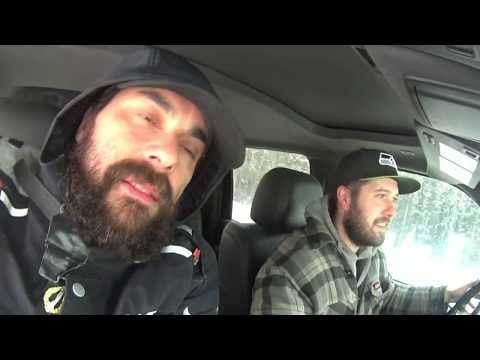 Un día de trabajo con Luke.# 51 Alaska en invierno en moto