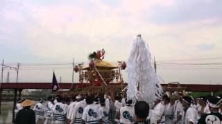 住吉祭神輿渡御-堺へ