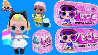 Новенькие в Школе! КАПСУЛЫ #ЛОЛ! LOL SURPRISE BLIND BAGS Распаковка Игрушек с Май Тойс Пинк