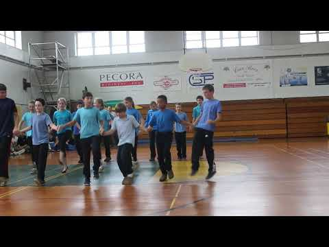 Greenwich Catholic School students do a Greek Dance on Cultural Diversity Day
