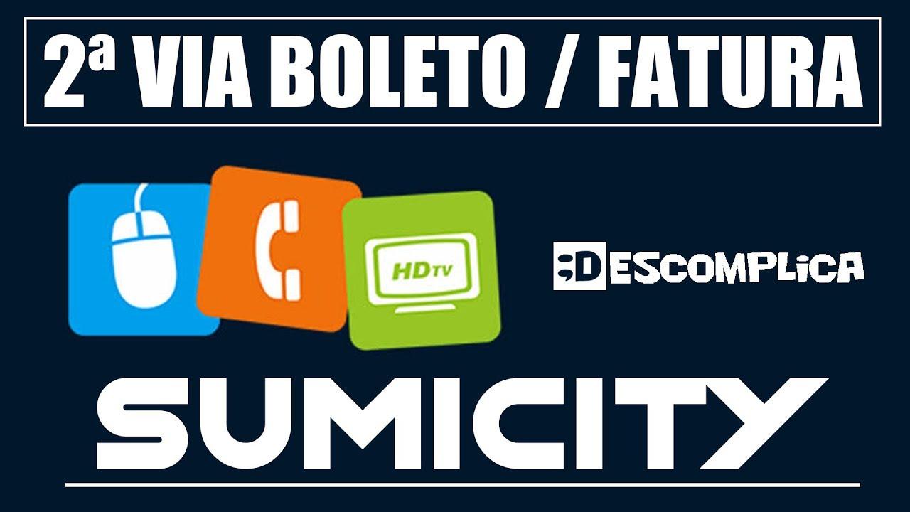 2ª Via Boleto Fatura Sumicity 2020 Youtube