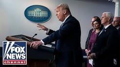 Trump announces new travel restrictions in coronavirus briefing