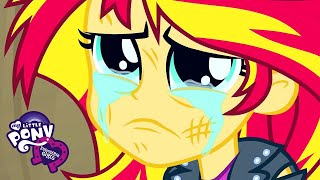 My Little Pony: Equestria Girls | The Elements of Harmony Defeat Sunset Shimmer | MLP EG Movie