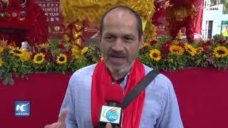 Comunidad china en Venezuela realiza festejos del Año Nuevo Lunar