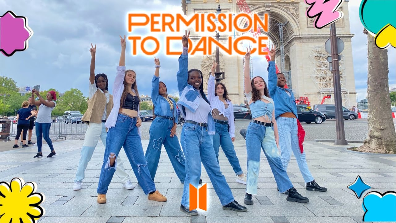 [KPOP IN PUBLIC FRANCE   ONE TAKE] BTS (방탄소년단) - PERMISSION TO DANCE Dance Cover by Outsider Fam