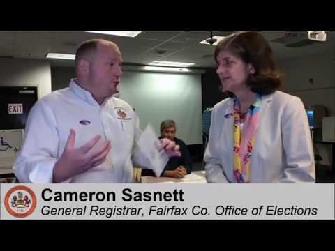 Fairfax County General Registrar Cameron Sasnett Previews the Nov. 7 Election (Sept. 22, 2017)