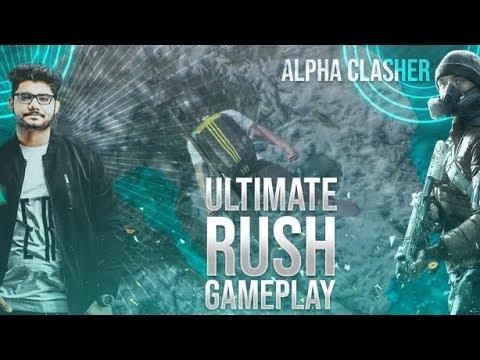 🔴pubg-mobile-live-:-full-rush-gameplay-||-m249-&-mini14-god-guns!-||-h¥dra-|-alpha-😋