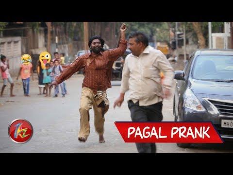 Funny Pagal Prank | Psycho Guy Prank | Best Prank in India 2019 | Mad man Prank | Zukazo