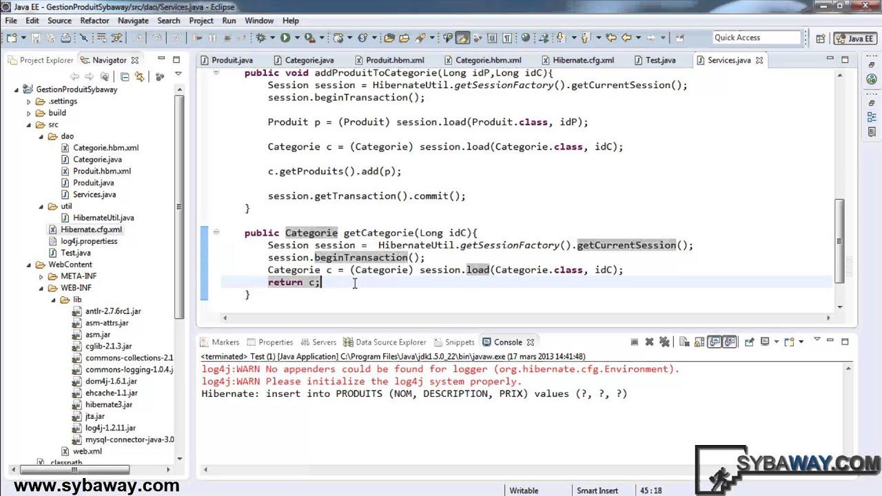 tutoriel java ee d 233 velopper une application avec