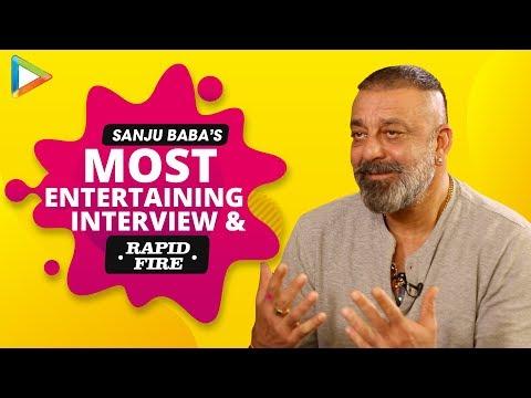UNFILTERED: Sanjay Dutt's AMAZING Interview On Prassthanam, Sanju | KILLER Rapid Fire Mp3