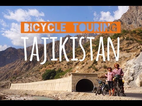 A Day on our Worldbicycletour #3 - Mountains of Tajikistan