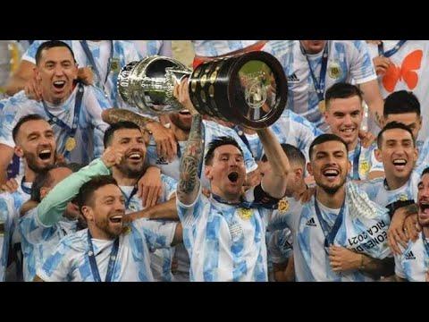 Обзор матча Аргентина - Бразилия - 1:0. Copa America-2021. Финал