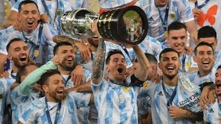 Обзор матча Аргентина Бразилия 1 0 Copa America 2021 Финал