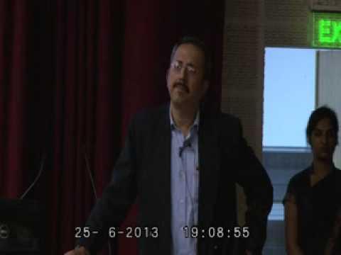 Ishmeet Singh :: Guest Lecture :: Sri Balaji Society, Pune
