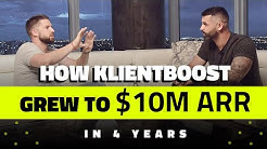 $800k in MRR?!? Johnathan Dane of KlientBoost Opens Up on Agency Growth