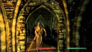 Skyrim Dawnguard dlc PC gameplay Chasing Echoes P2
